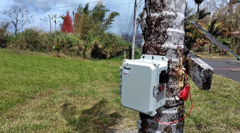 Sensor networks in Hawai'i